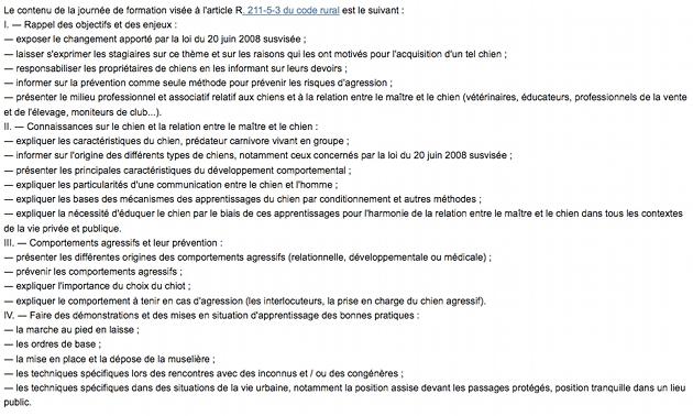 Formation attestation d'aptitude chien Alpes-Maritimes (06)