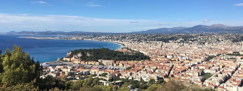 Parc de la Colline du Château à Nice