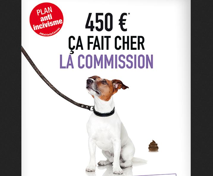 Incivisme dejection canine Cannes