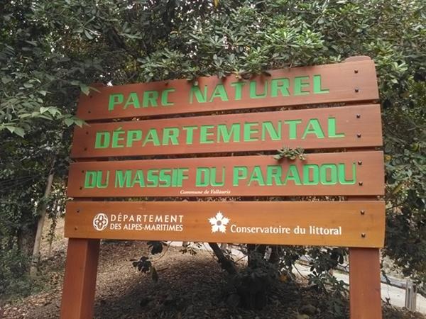 Parc du Paradou à Vallauris